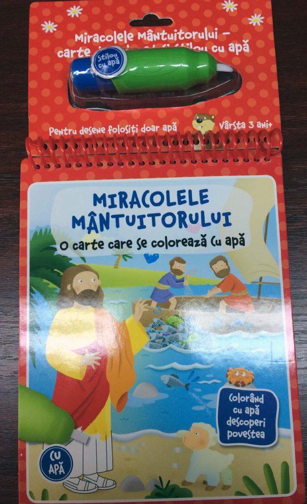 Miracolele Mantuitorului – water doodle